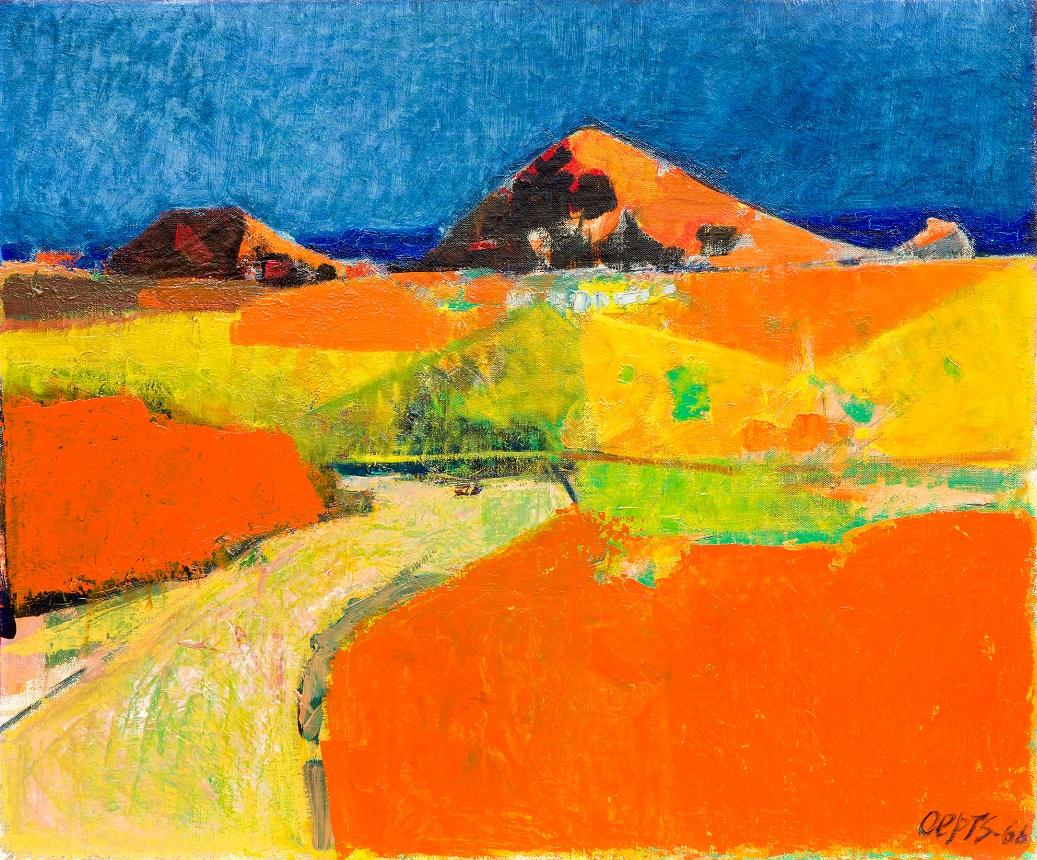 Landscape in the Dordogne