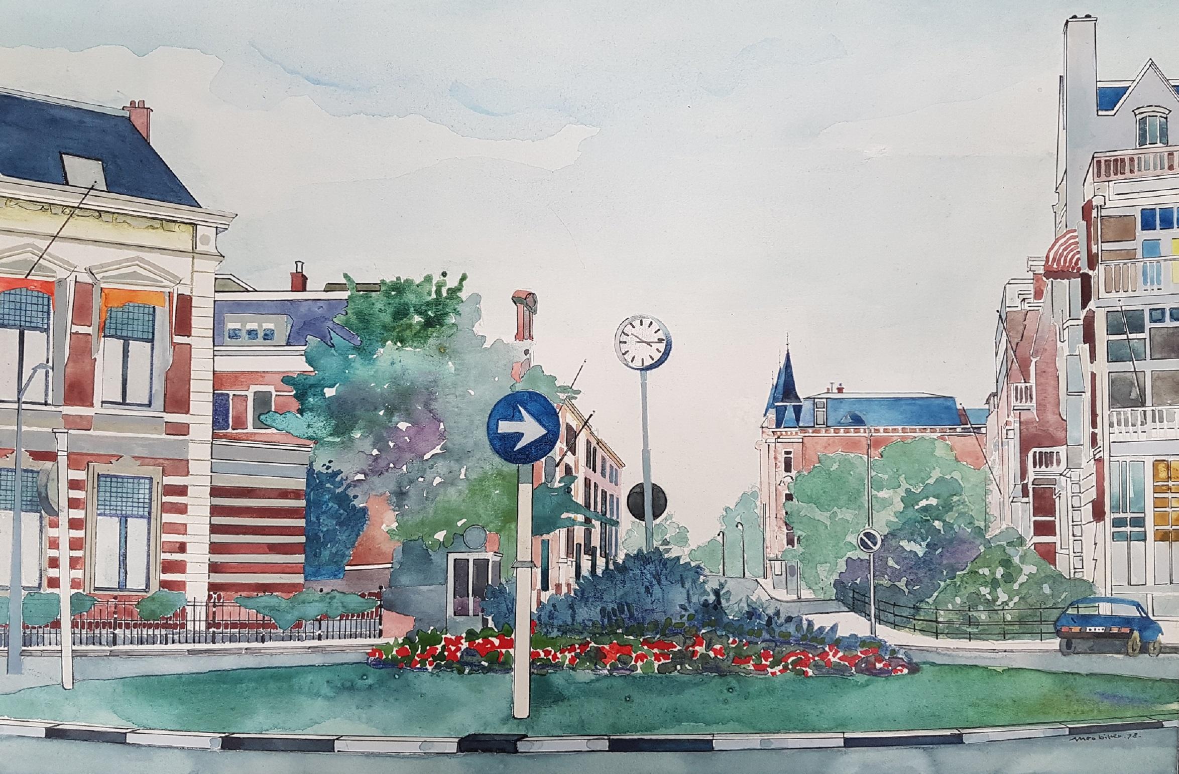 Bankaplein, Den Haag 1978