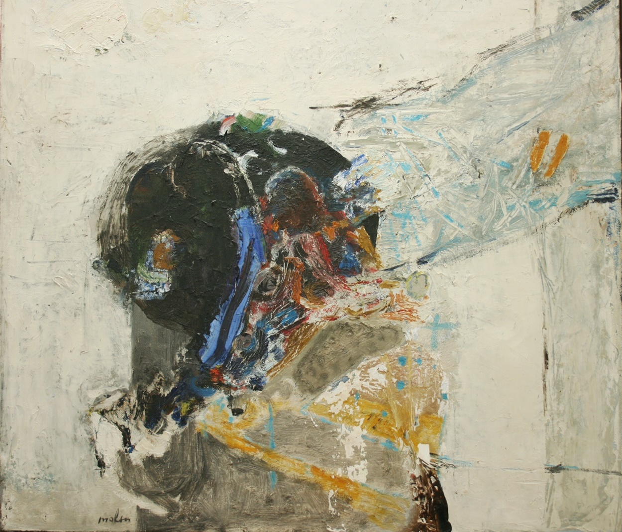 Gevraagd: vroege abstracte werken Lei Molin (1927-1990)