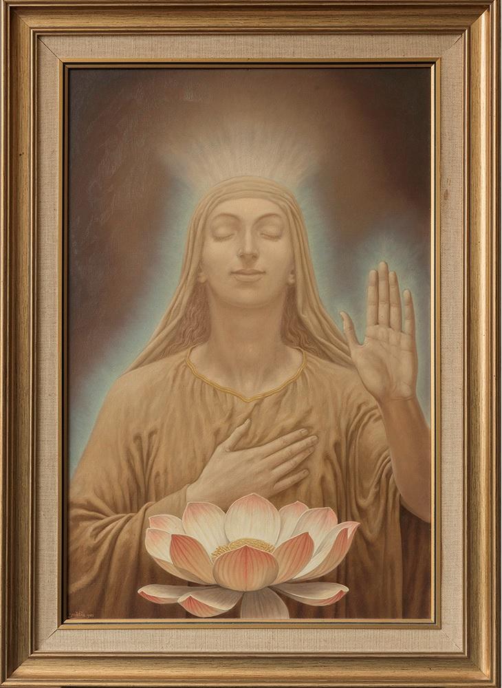De zegening van de lotus