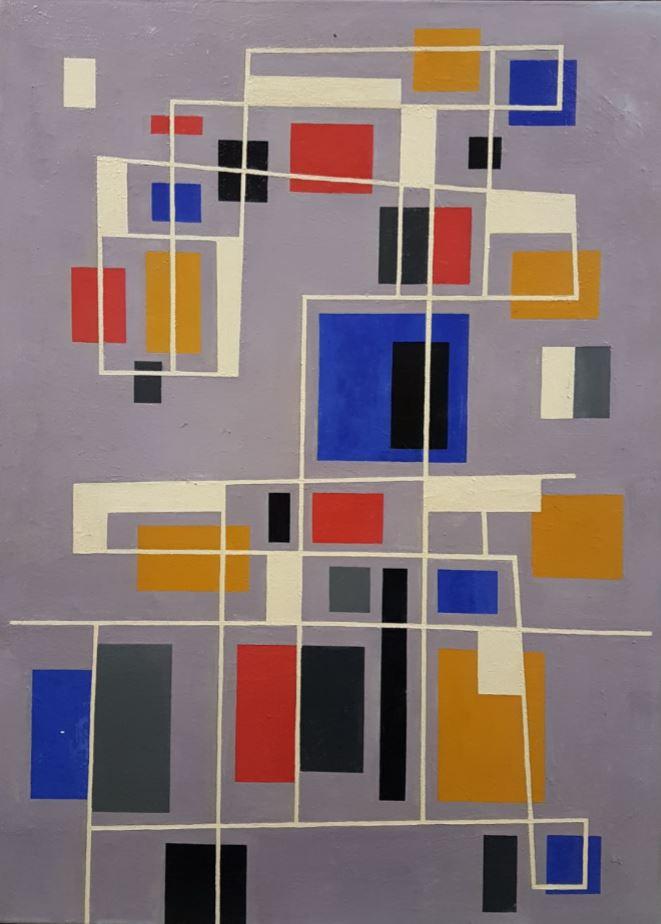 Geometrische compositie 1949