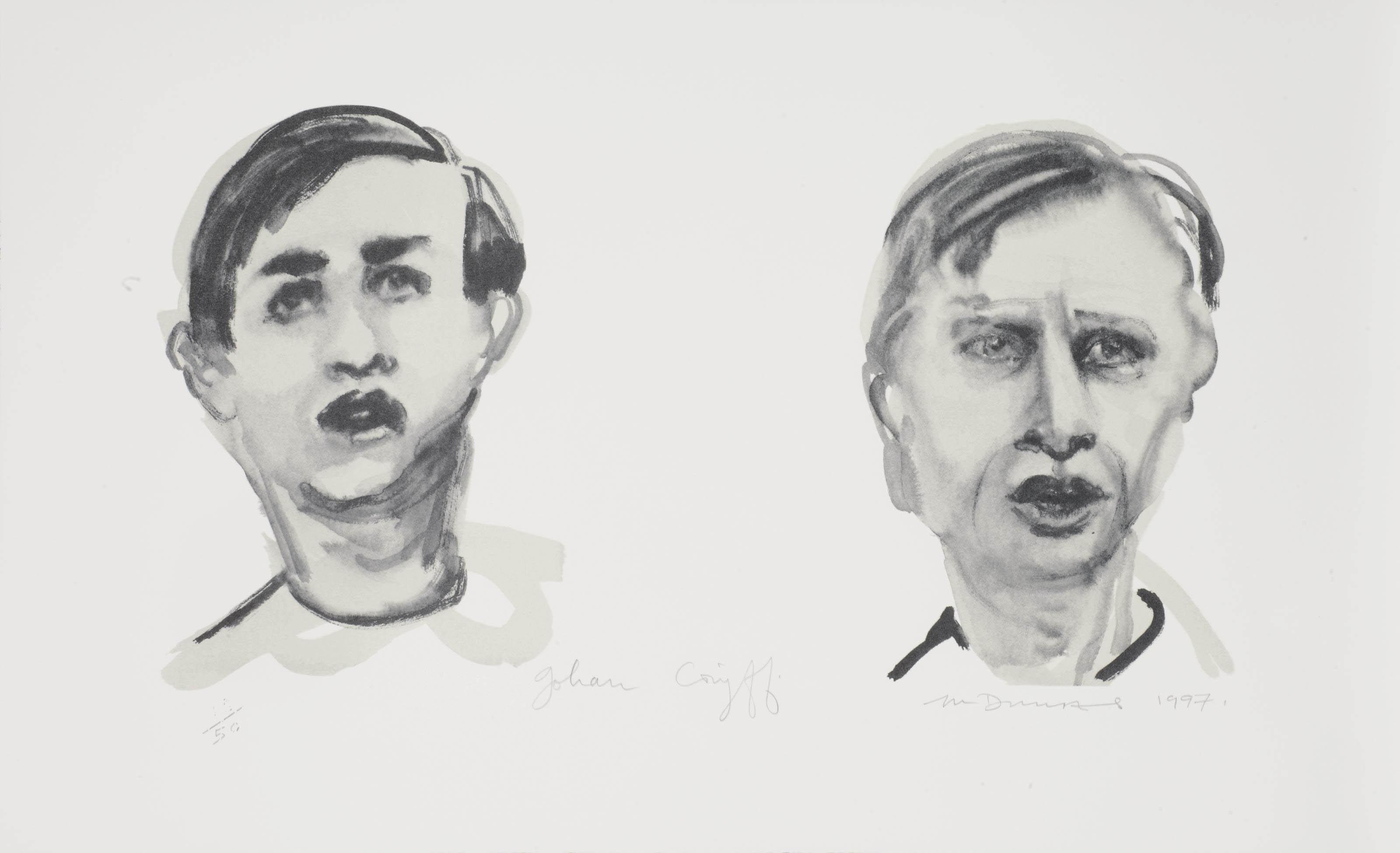 Johan Cruyff (dubbelportret)