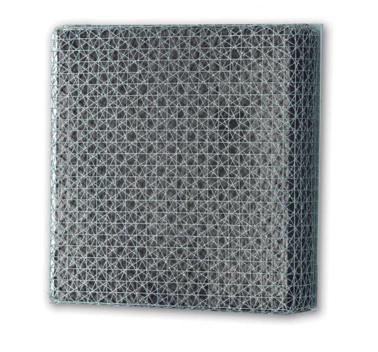 3 Trames de grillage 0° 30° 60° (3 Frames of mesh 0° 30° 60°)