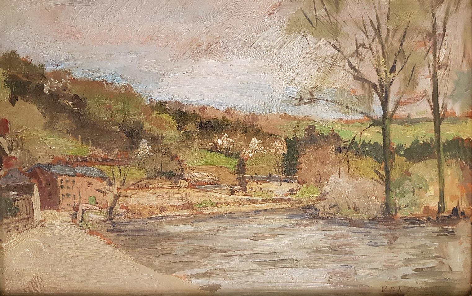 Dorp aan rivier