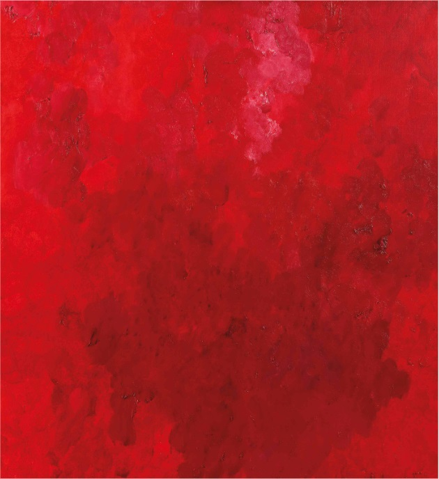 Rotes Bild (Red Painting)
