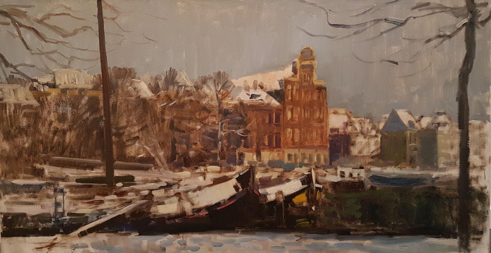 'Stockholm' aan de Wolwevershaven te Dordrecht