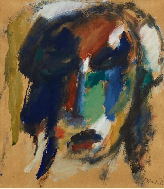 Portrait of a woman, 1965