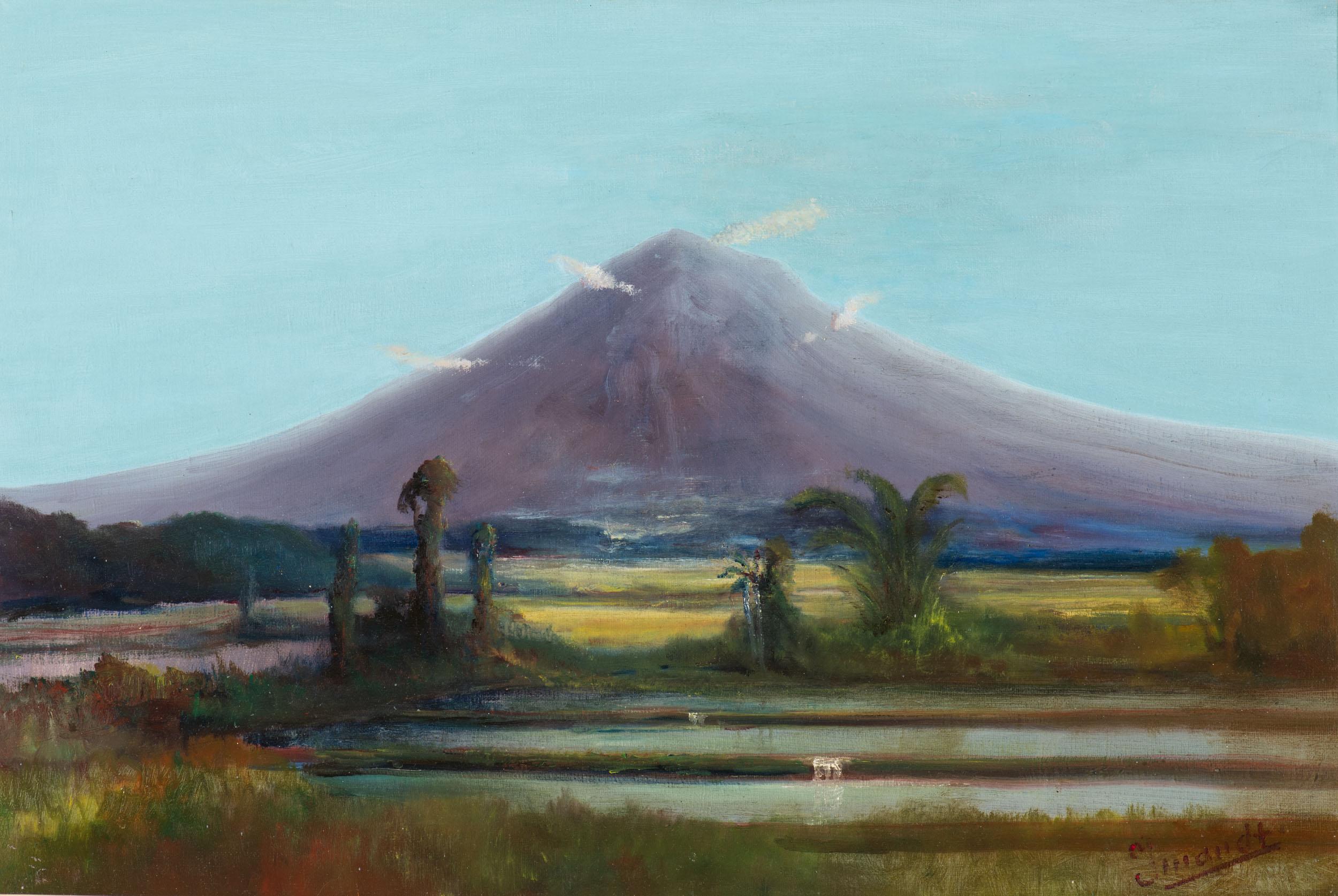 The great Merapi volcano