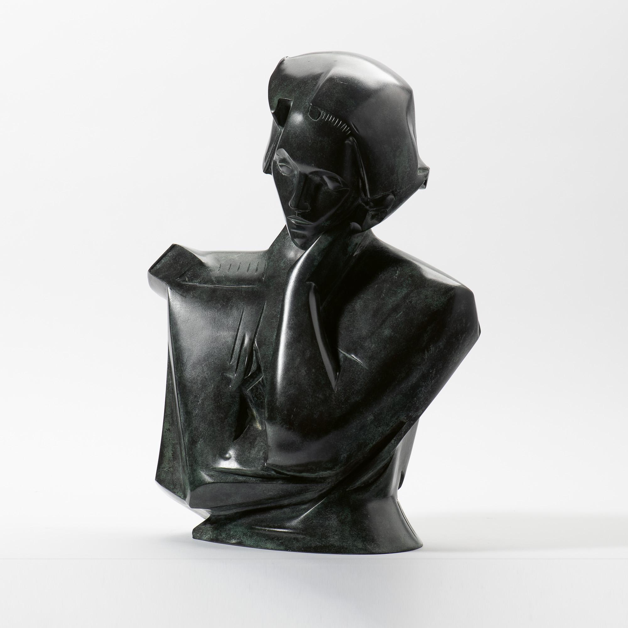 Femie leunend op elleboog (1929)