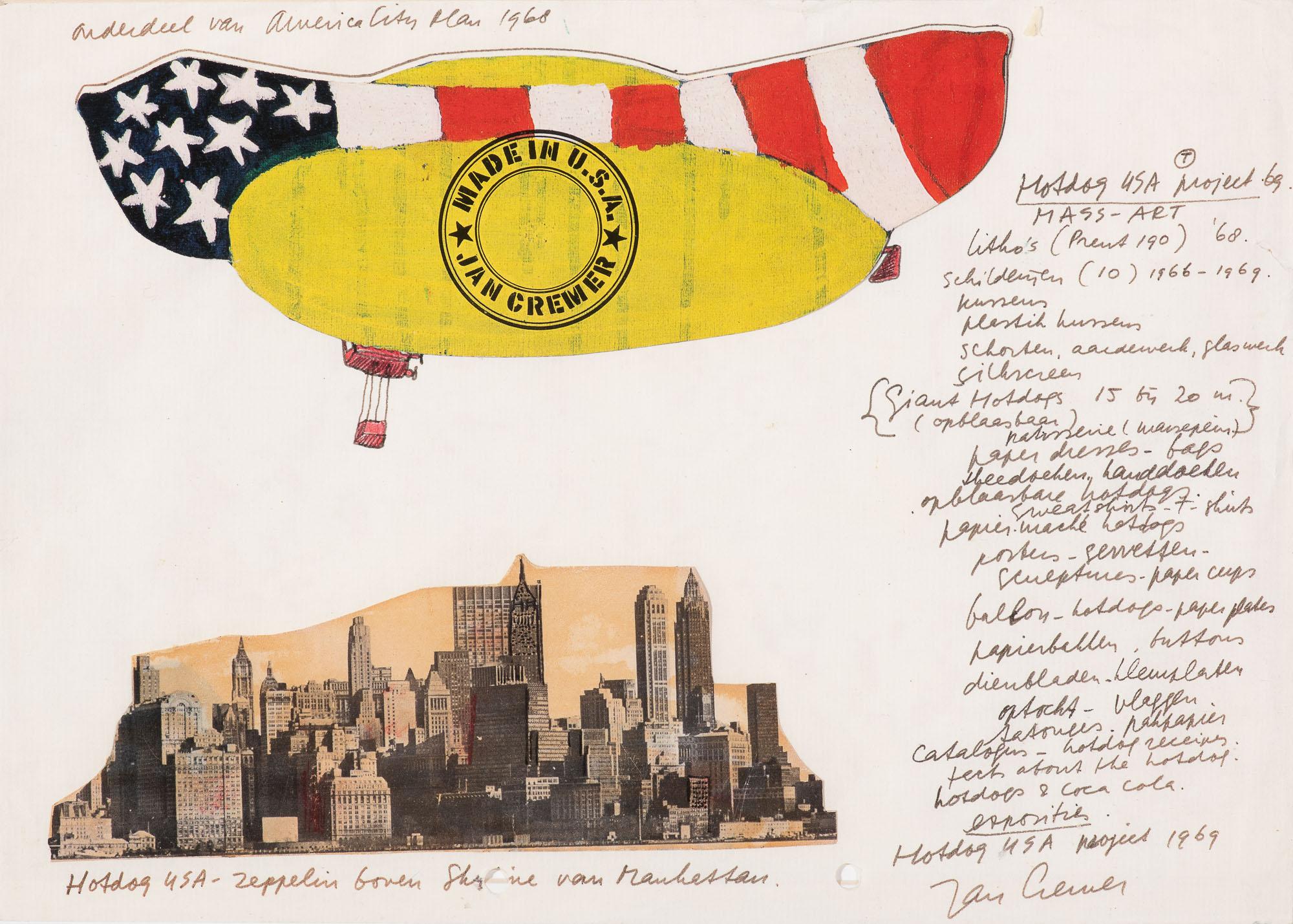 American City Plan 1968: Hotdog USA - Zeppelin, 1969