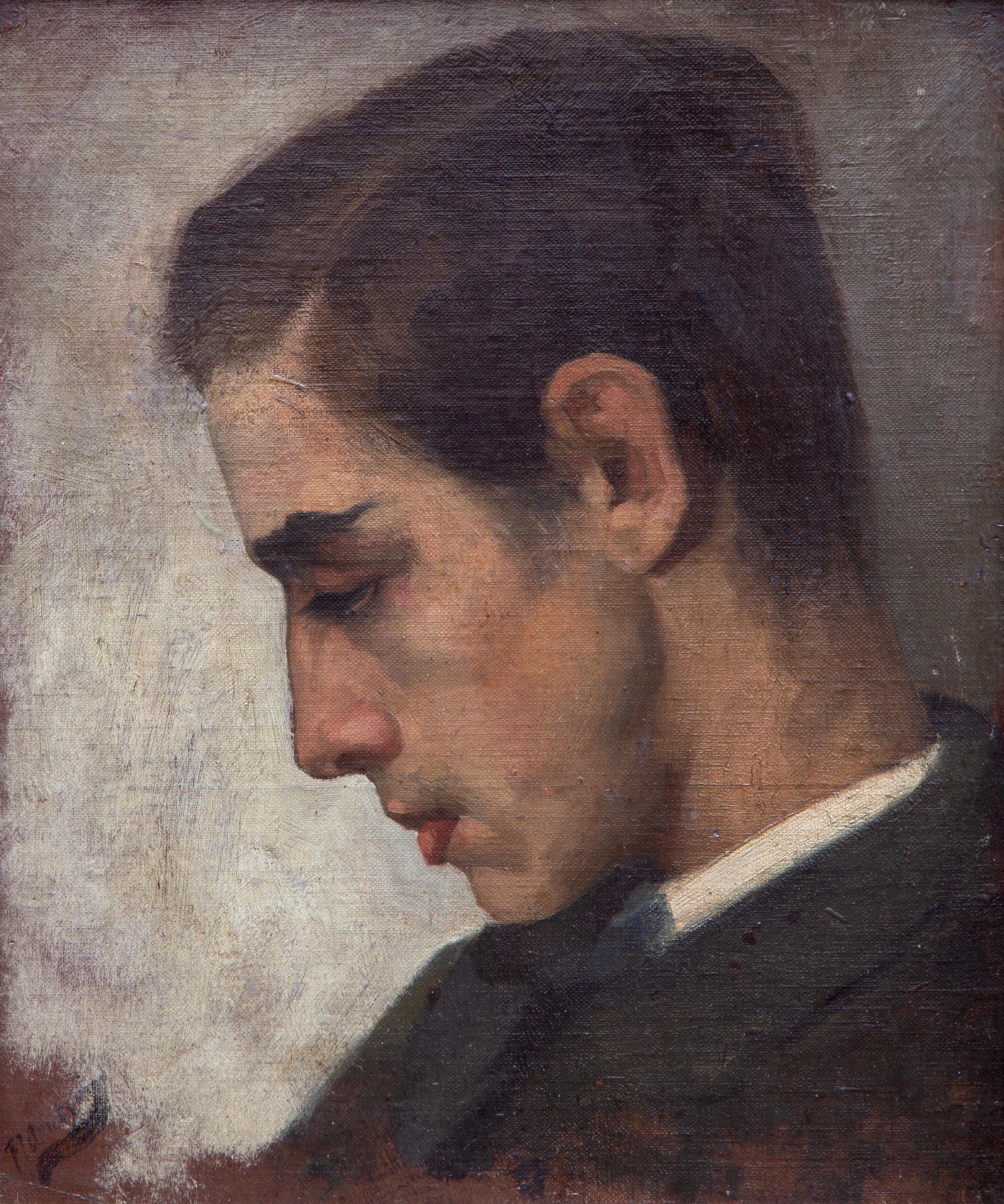 A portrait of Louis Davids
