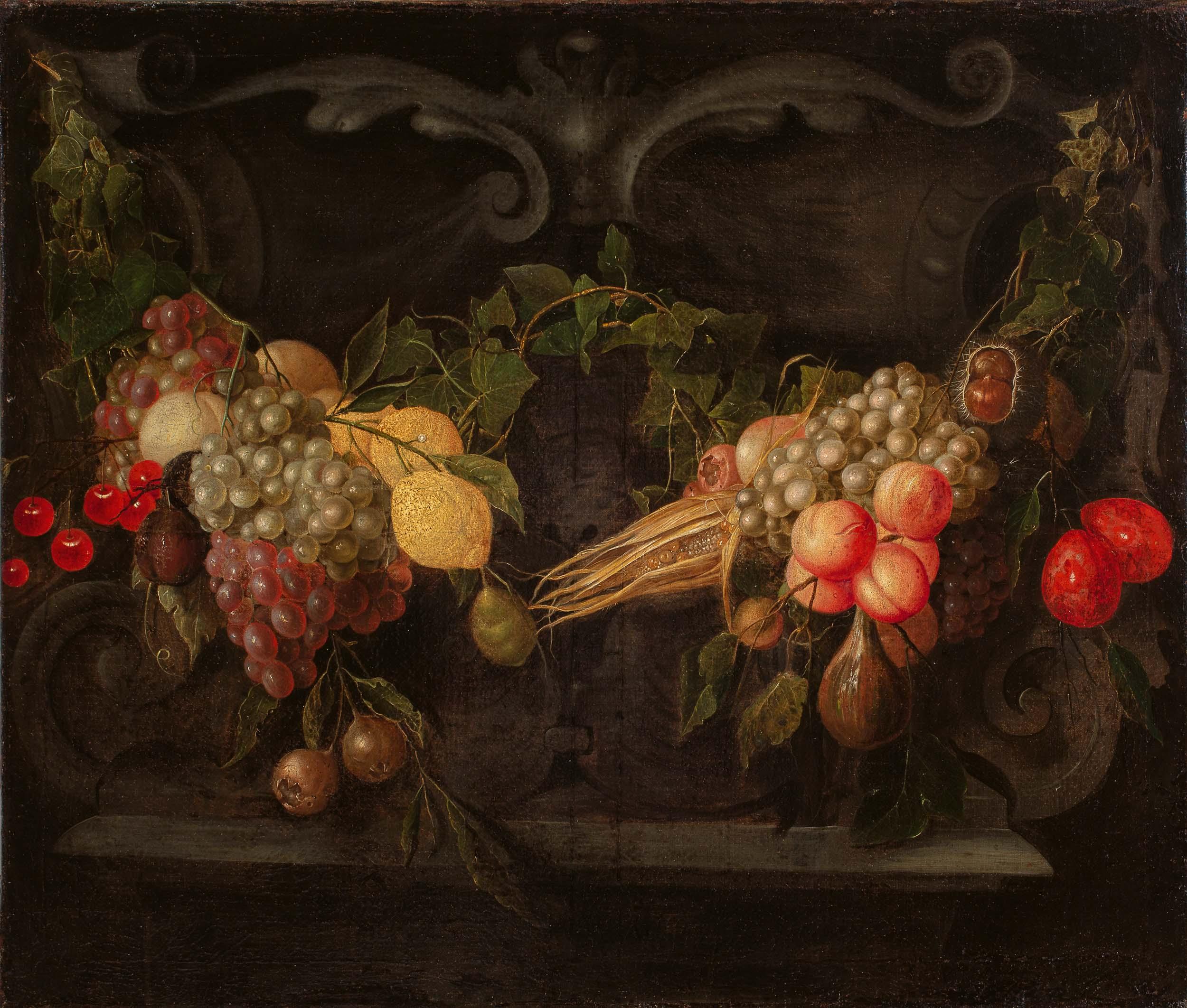Garland of fruit