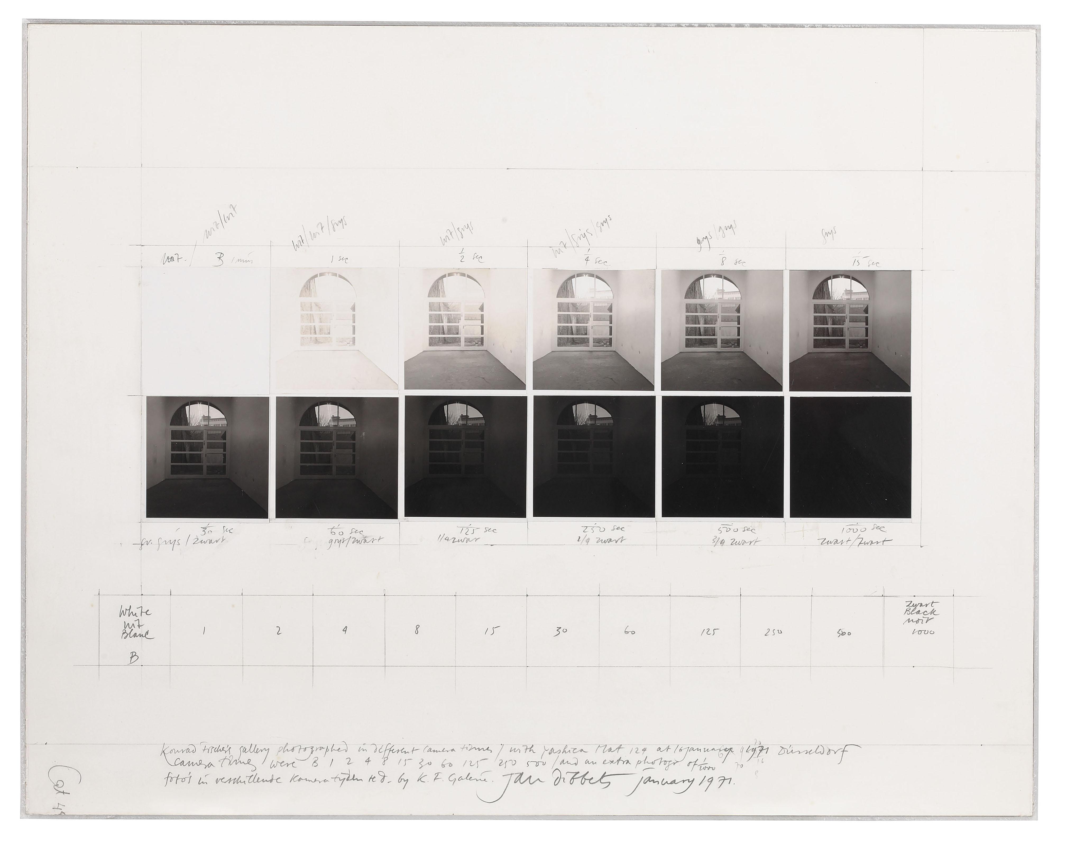 Shutterspeed Piece - Konrad Fisher's Gallery I