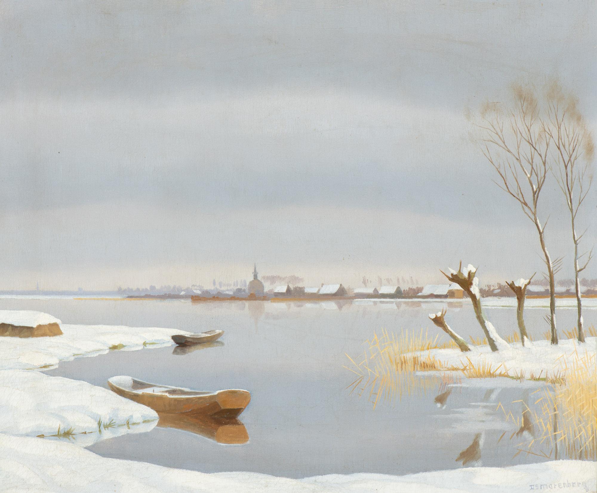 The Loosdrechtse Plassen in winter