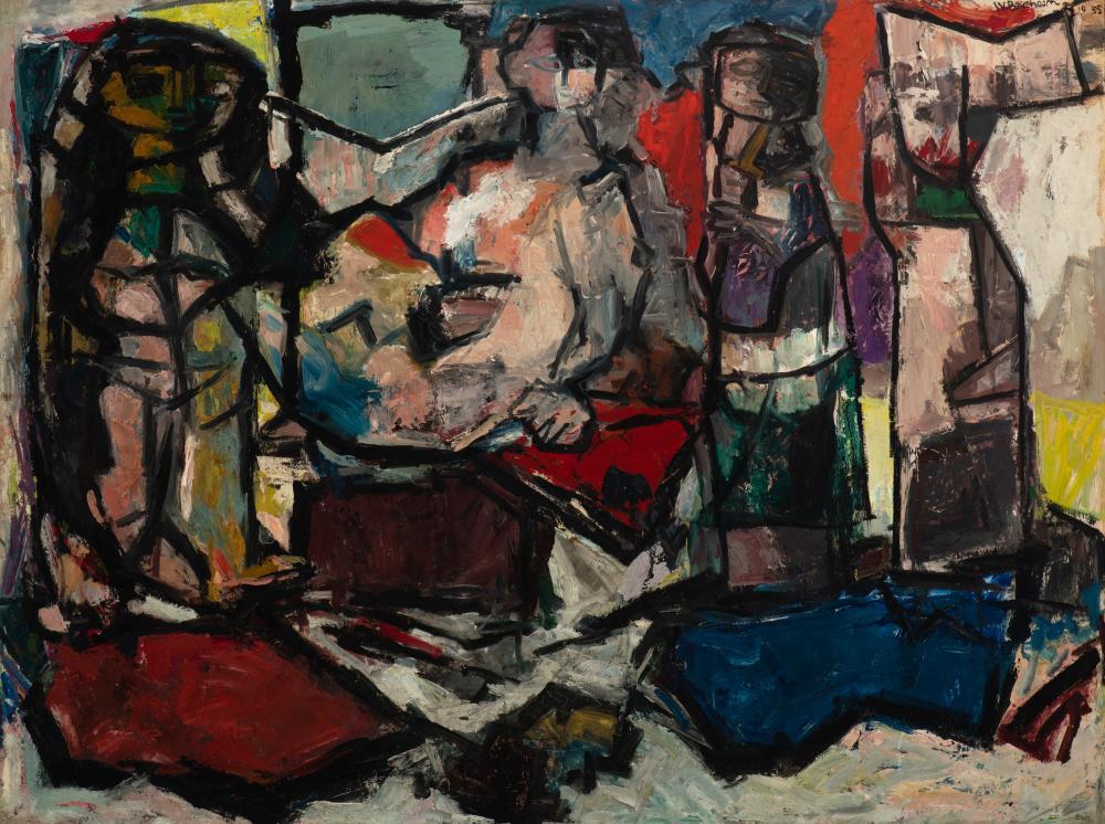 Compositie (Samenstelling), 1955.
