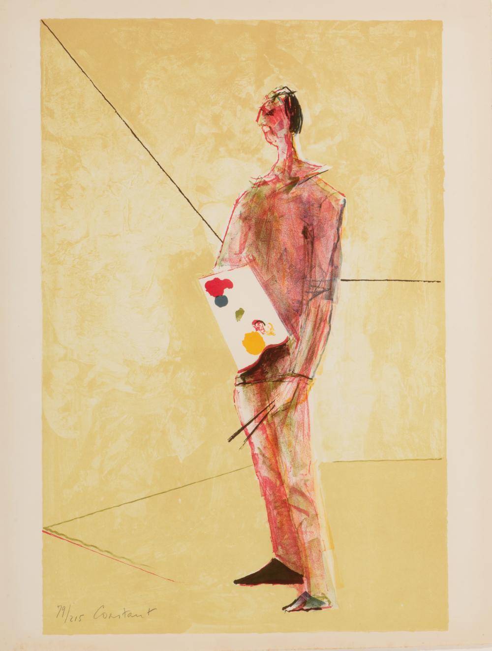 Zelfportret (Self-portrait), 1977.