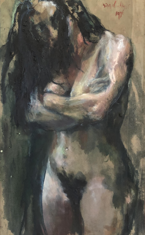 Haar (Staand naakt), 1996