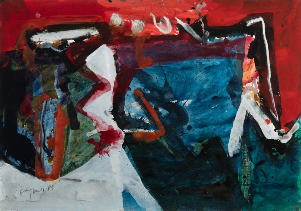 Opgesloten Blauw (Locked up Blue), 1985.