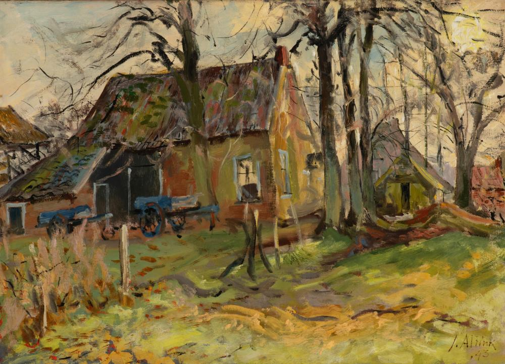 The edge of the village, 1943