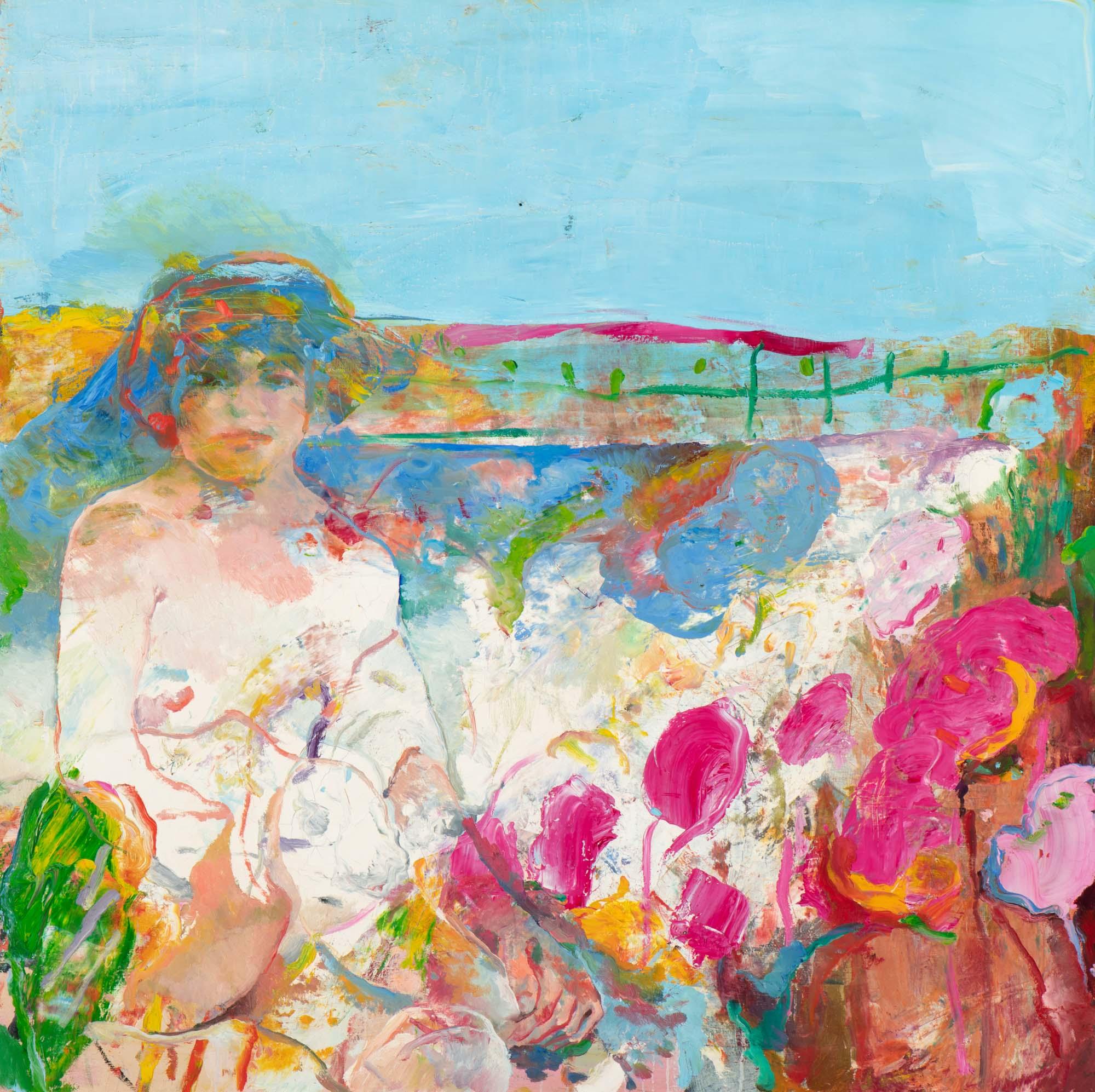 Nude in flower garden (1976-1977)