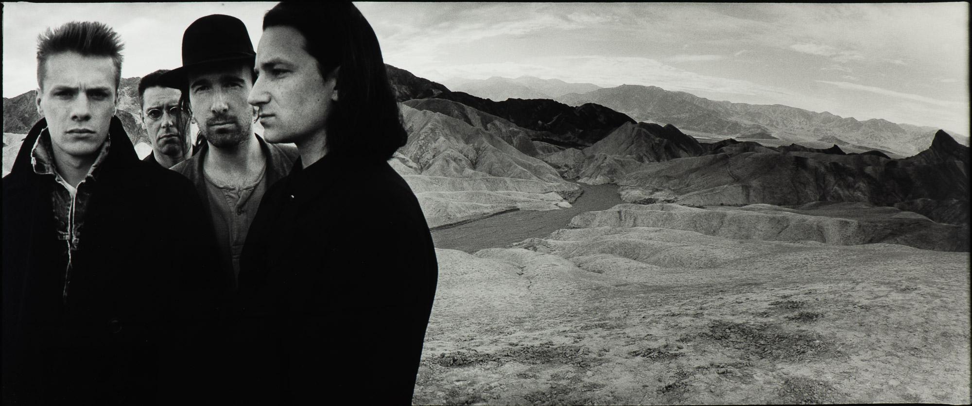 U2, Death Valley, 1986