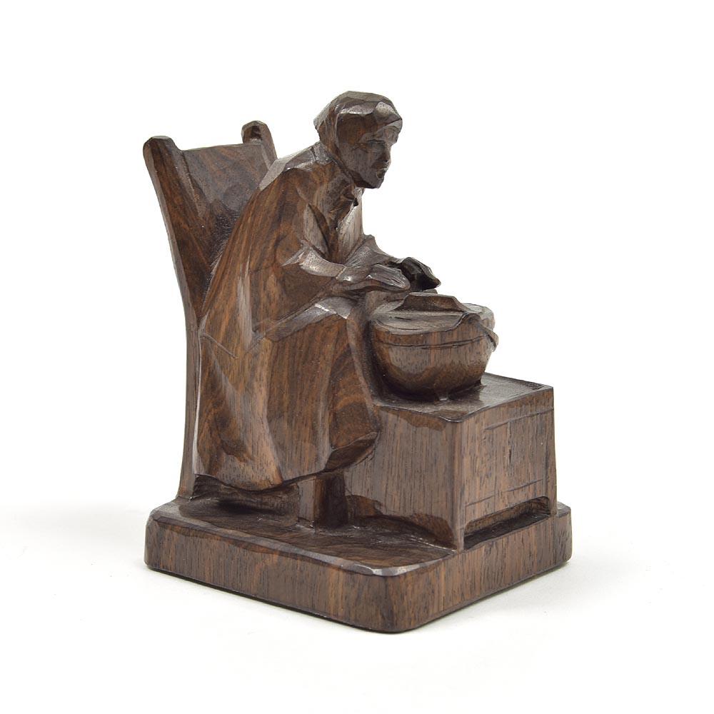 Bronzen Beeld Zittende Vrouw met Kruik - SD-Decorations - Decoratieartikelen
