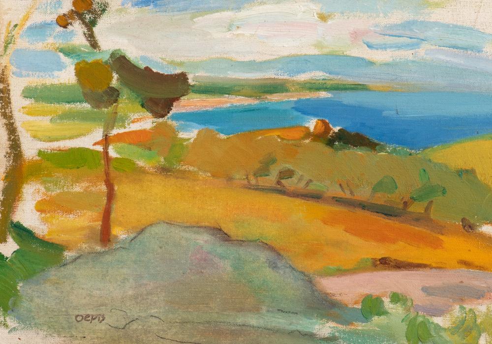 Sunny seaside view near Collioure (c. 1937)
