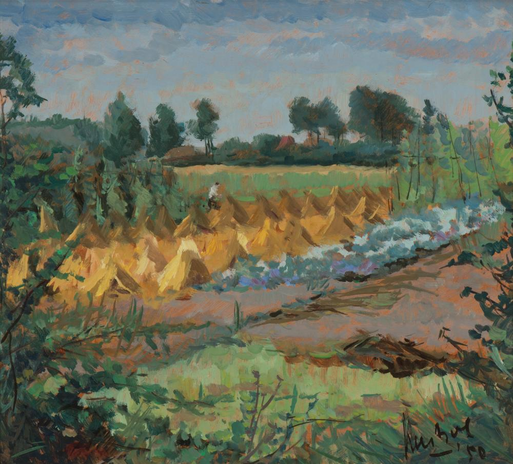 Landschap Tongelre / Tongelre landscape (1950)