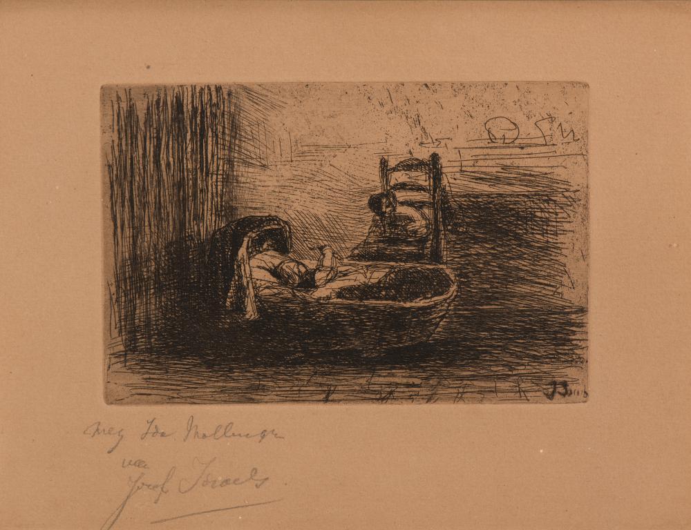 Oud en versleten / Old and worn & Kind in de wieg / Child in the cradle (1873 & 1875)
