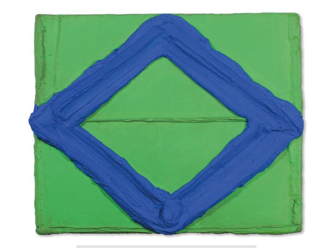 Blauwgang-groen (Blue Passage-Green)