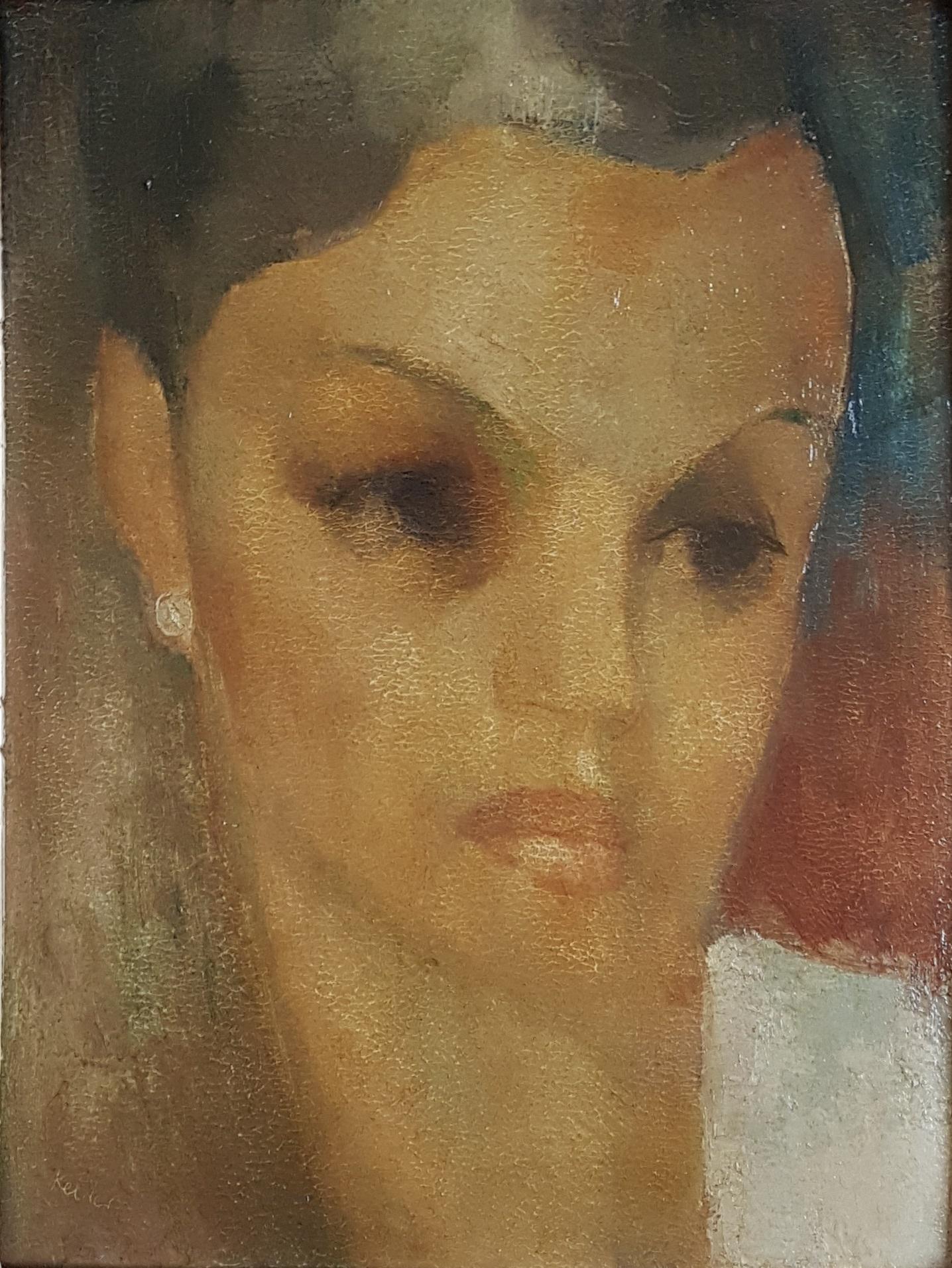 Portret Alexandrine Kelder