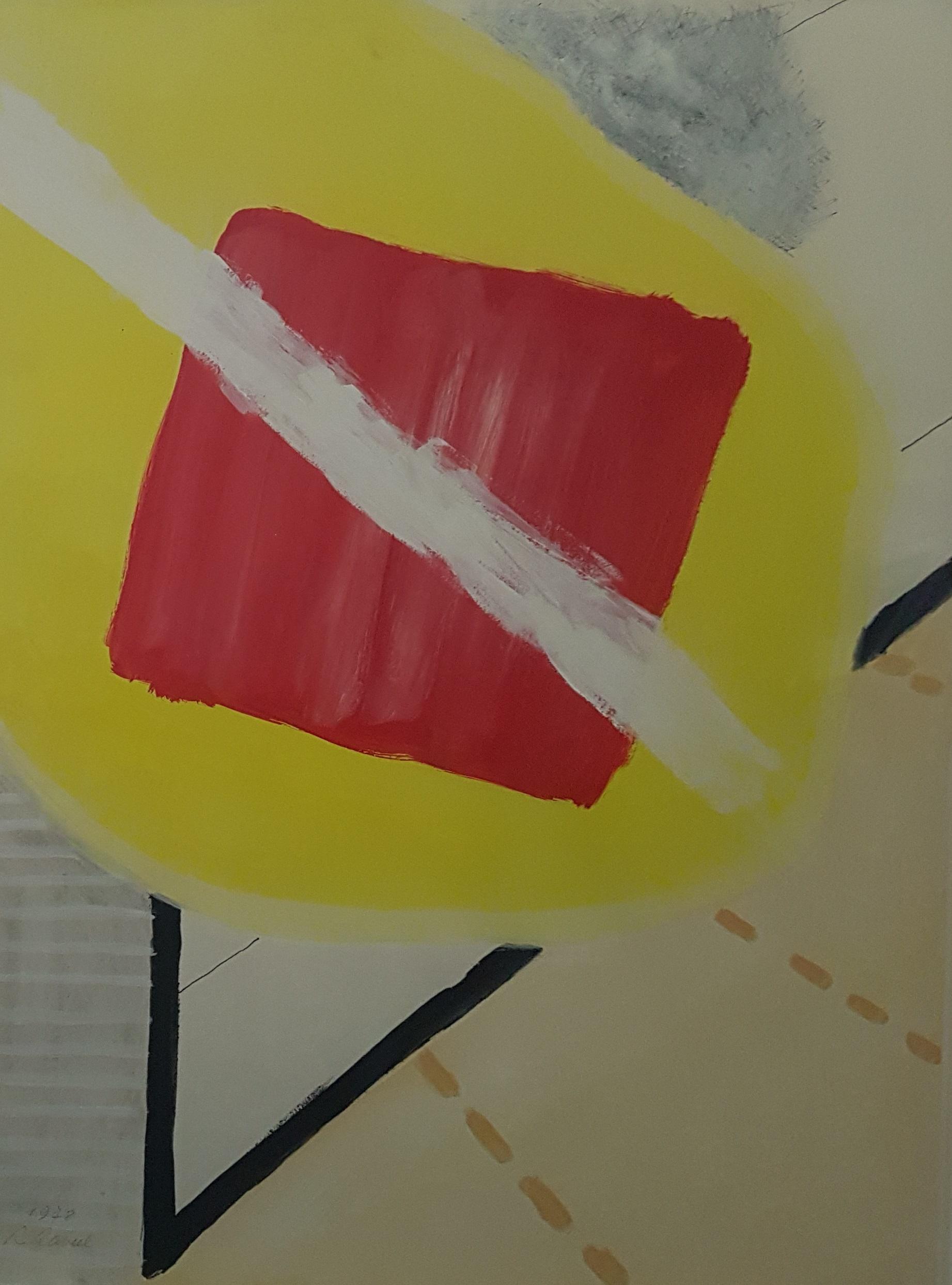Rood optocht vierkant  (De schilderijenoptocht )