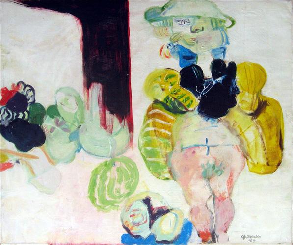 Werk van Geertrui Charpentier (1930-2012) gezocht
