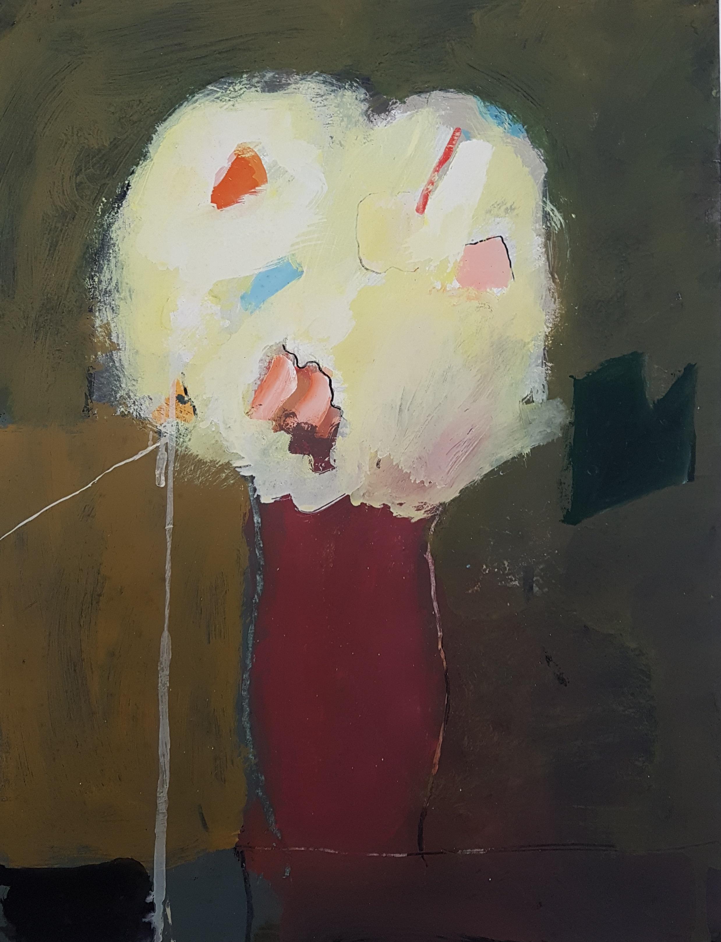 Bloemen in rode vaas (1979)