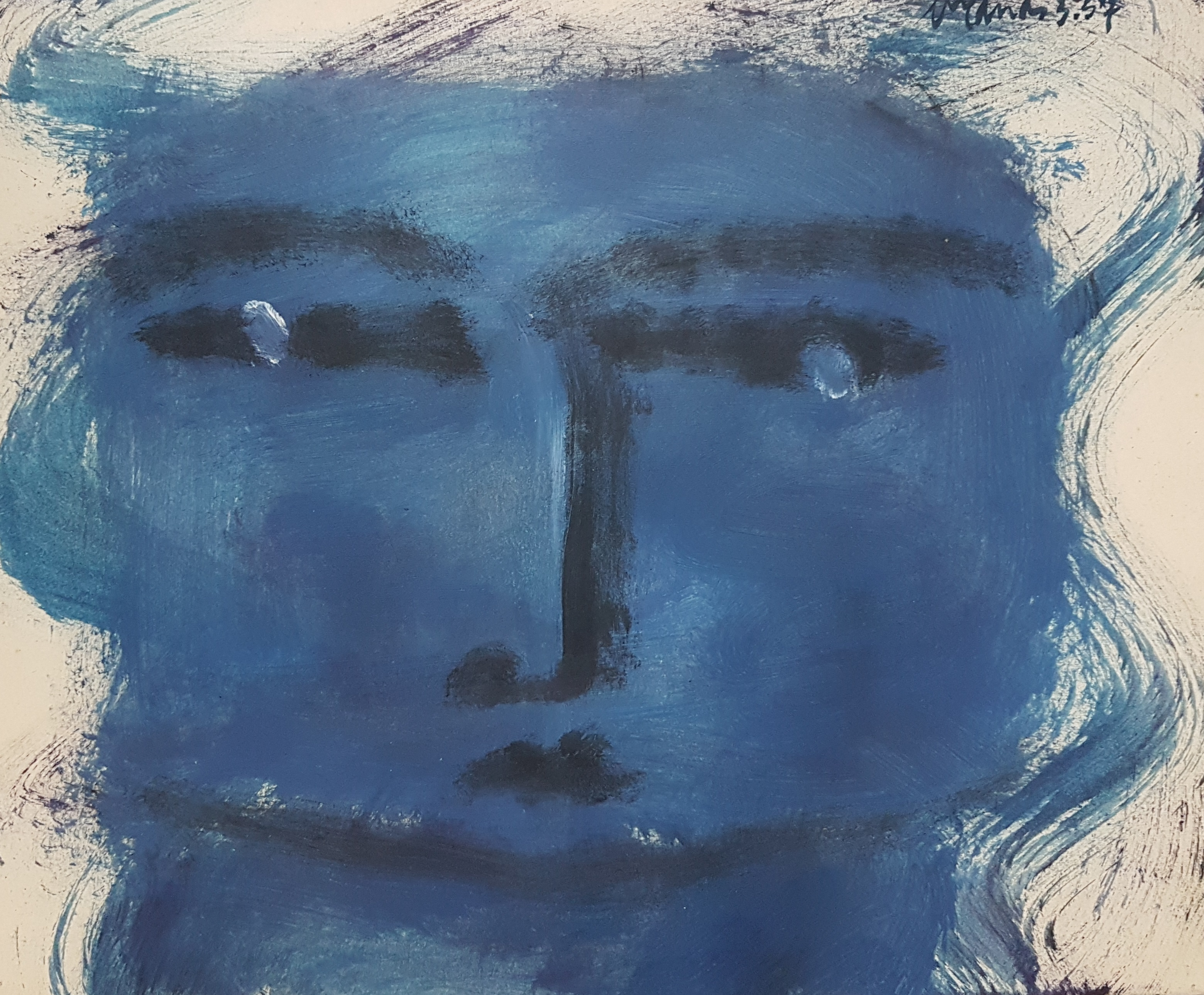 Blauw hoofd (1957)