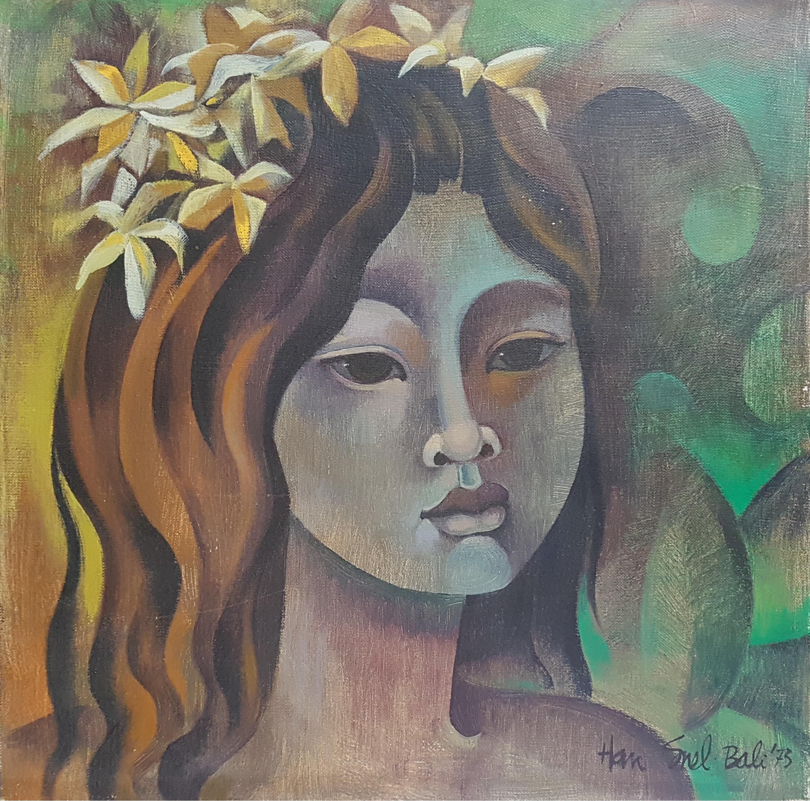 Portret van een Balinees meisje