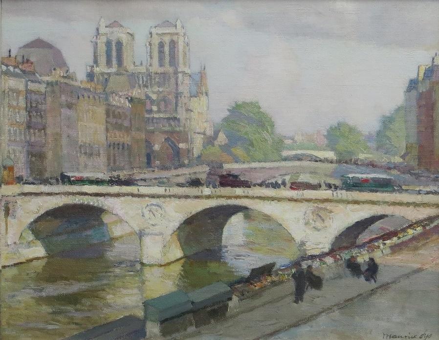 Pont St- Michel à Paris