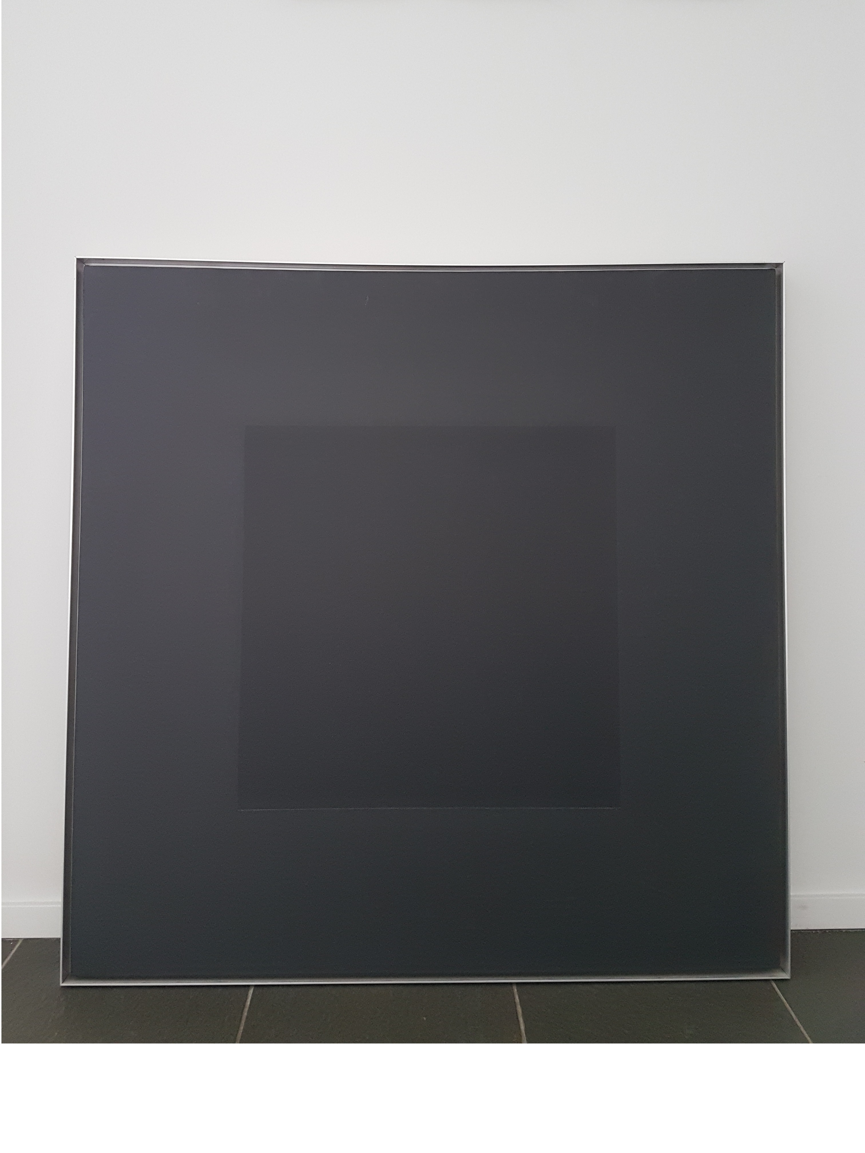 Zwart met vierkant