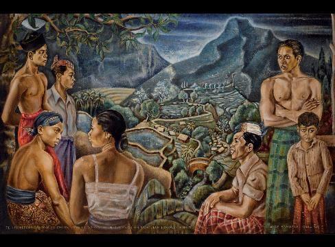 Gevraagd Indonesische kunst: Auke Sonnega 1910-1963