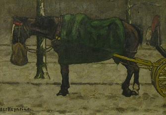 Trekpaard In De Winter