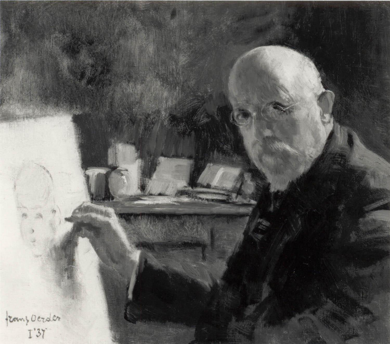 Gevraagd Olieverven Frans Oerder 1867-1944