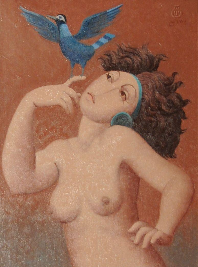 Etude, L'oiseau bleu