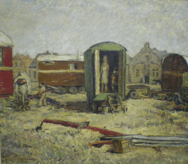 Circus in het dorp