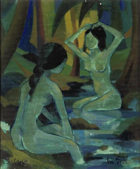 Gevraagd Indonesische kunst: Han Snel 1925-1998