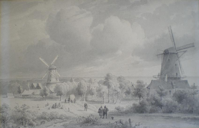 Amsterdamseweg Arnhem ca. 1830