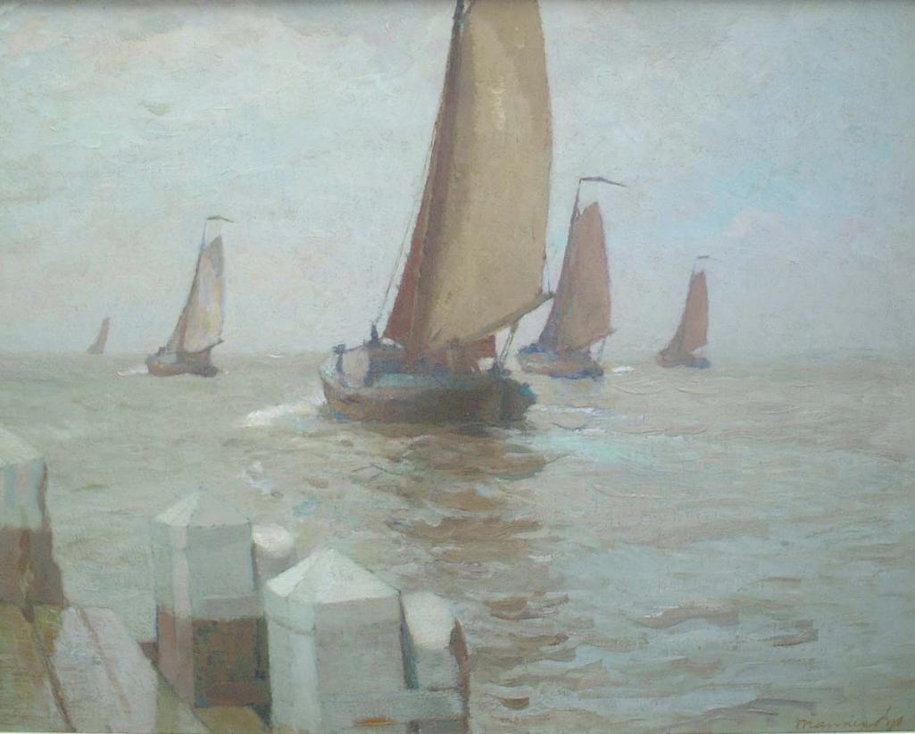 Uitvarende vissersvloot