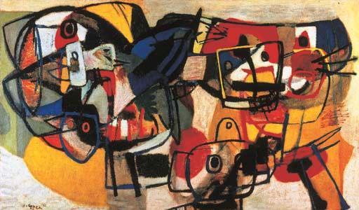Vroeg werk Karel Appel gevraagd (1921-2006)