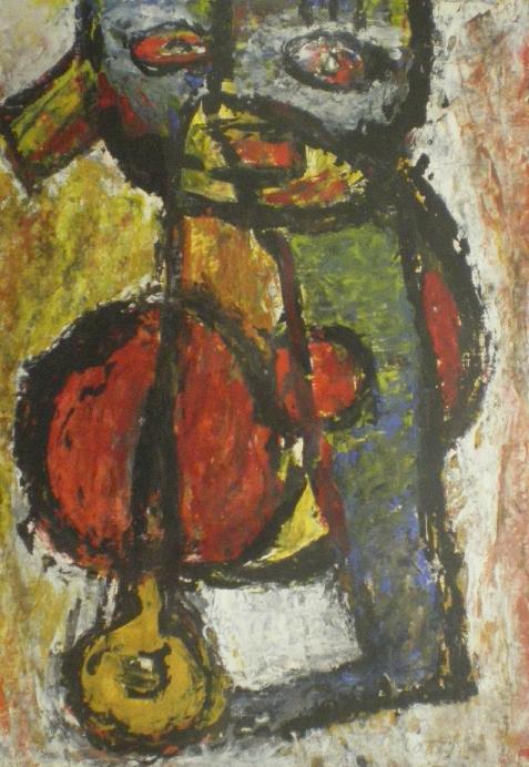 Compositie met figuur