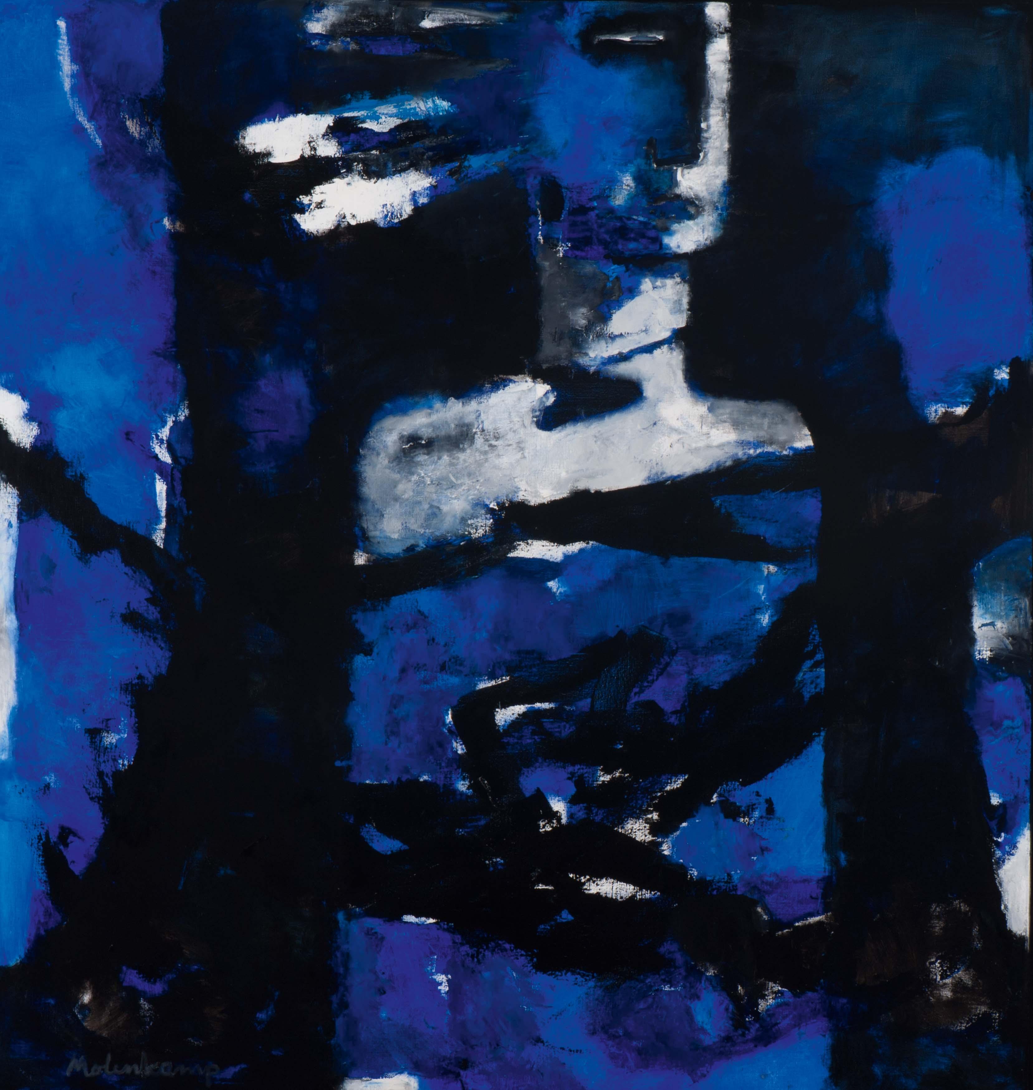 Figuur in blauw
