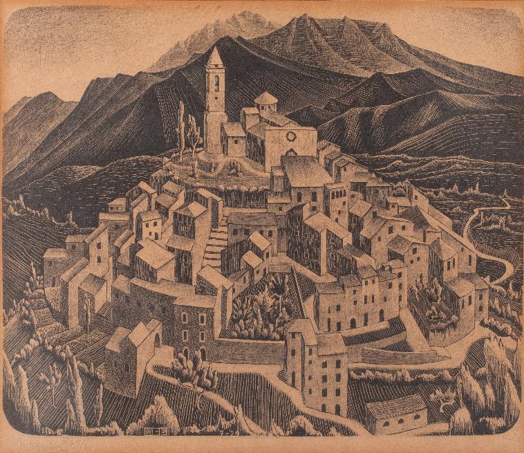 Goriano Sicoli, Abruzzo, juli 1929 (b.126)